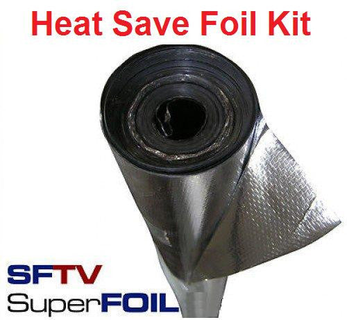 Heat Save Foil Kit