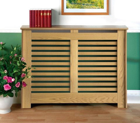 B - Small Manhattan Oak Radiator Cover