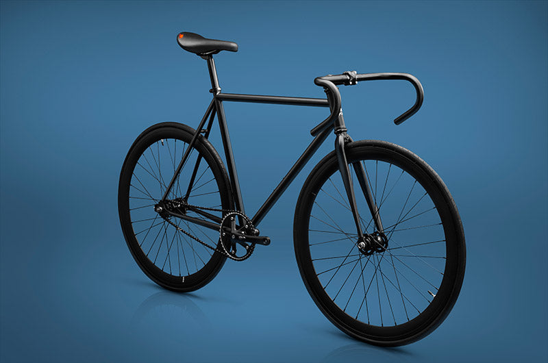 wlkie cycles night fury fixed gear single speed