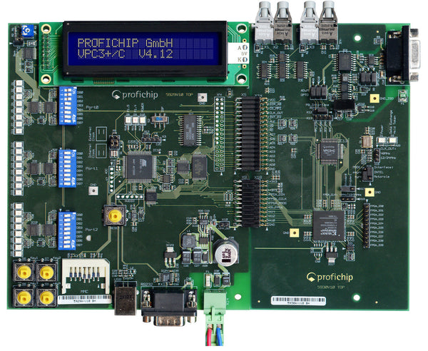 PA006300 | VPC3+CLF3 PROFIBUS SLAVE ASIC EVALUATION KIT