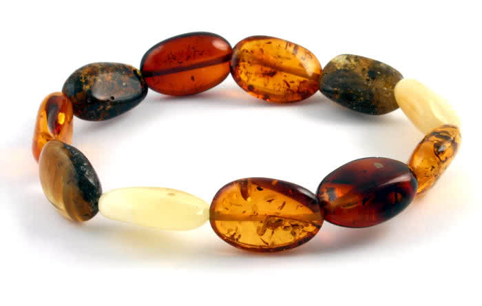 Baltic Amber Drop Bracelet