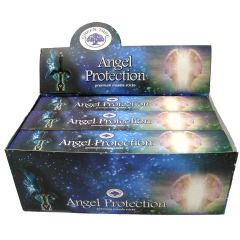 Angel Protection ~ Green Tree