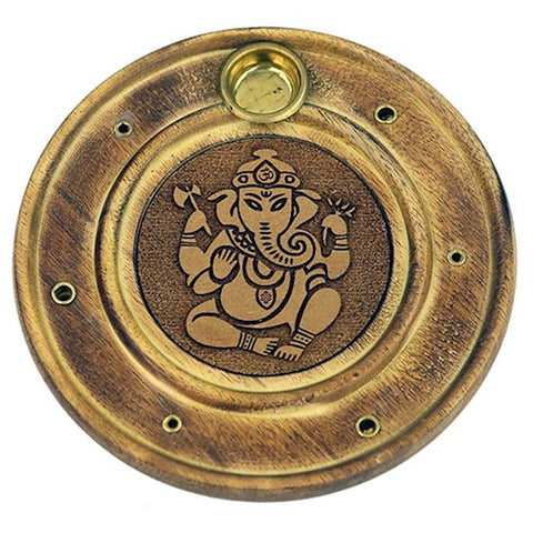 Ganesh Incense & Cone Holder