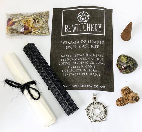 Bewitchery Spell Kit ~ Return To Sender (Hex Breaker)