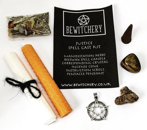 Bewitchery Spell Kit ~ Justice