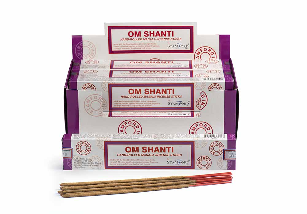 Om Shanti Incense Sticks ~ Satya