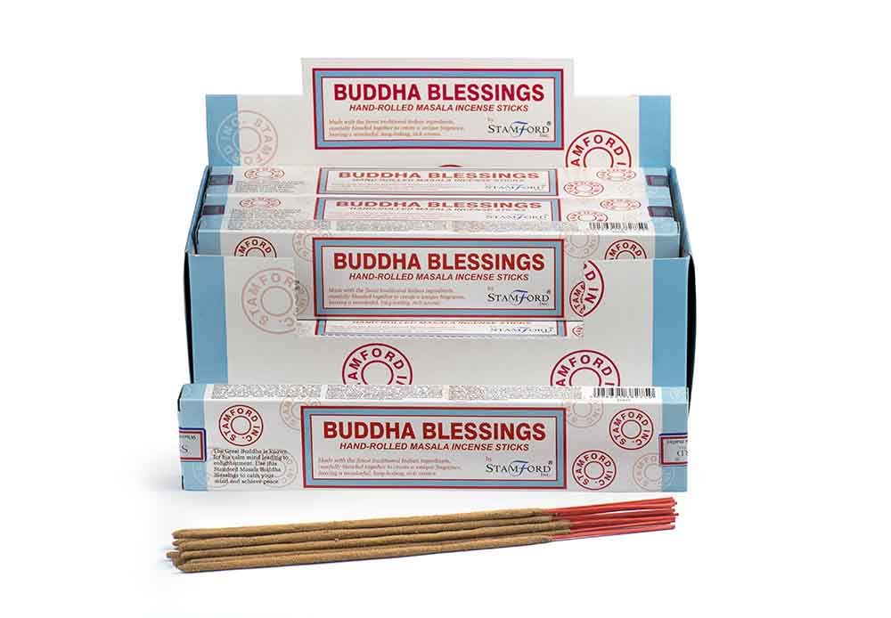 Buddha Blessings Incense Sticks ~ Satya
