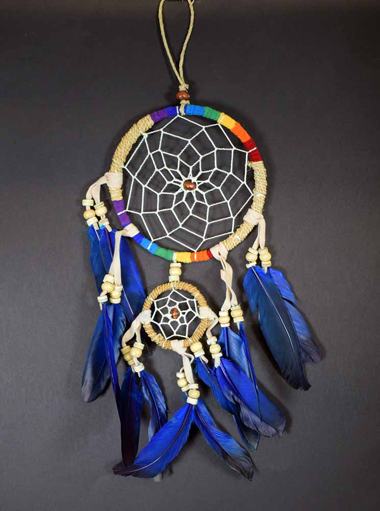 Rattan Chakra Dream Catcher