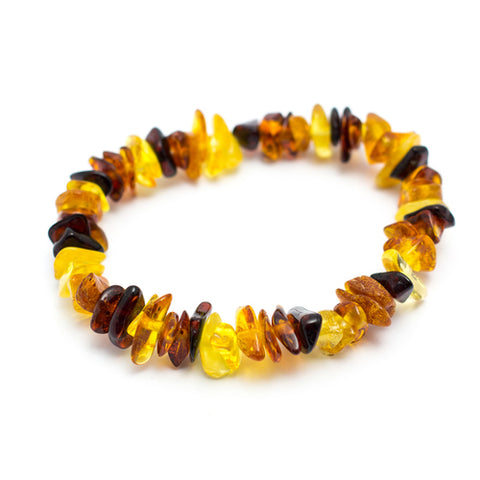 Baltic Amber Chip Bracelet