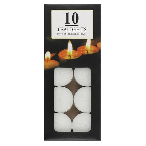 Tea Lights ~ Pack Of 10