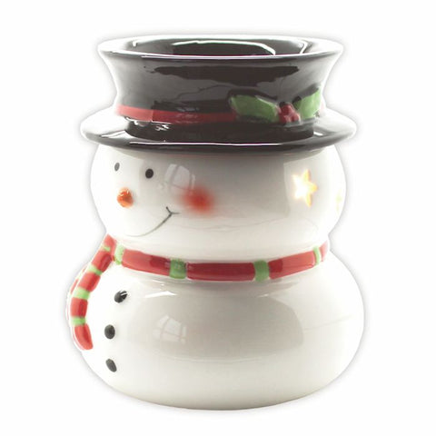 Electric Wax Melt/Oil Burner ~ Snowman