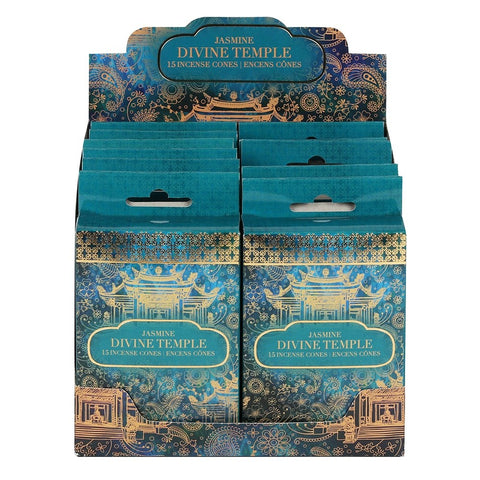 Divine Temple Incense Cones ~ Jasmine