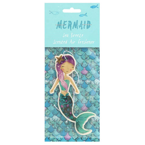 Mermaid Air Freshener ~ Sea Breeze
