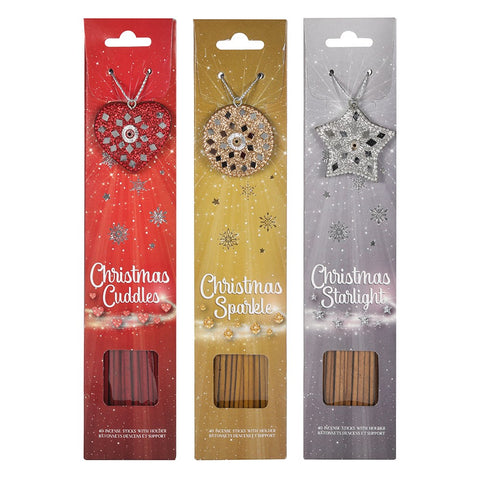Christmas Incense Sticks with Holder