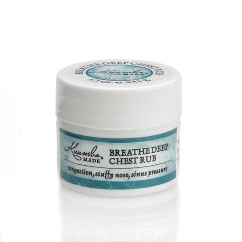 Apothecary ~ Bath & Body Herbal Care ~ Breathe Deep Chest Rub