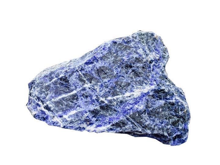 Crystals Rough Sodalite Crystal