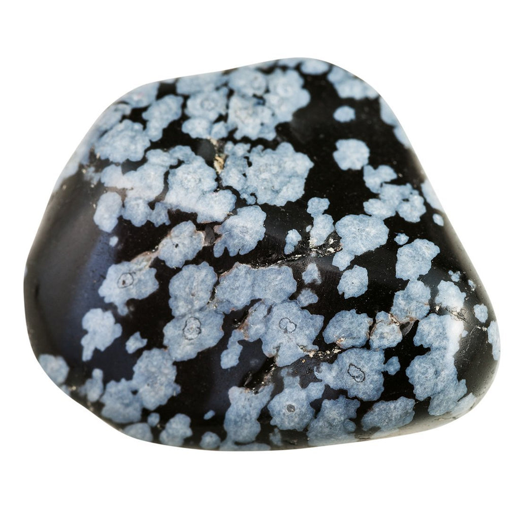 Crystals Snowflake Obsidian
