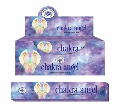 Chakra Angel ~ Green Tree