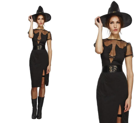 Halloween Enchanting Cat Witch - Adult Costume