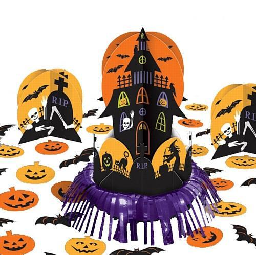 Halloween Halloween Haunted House Table Decorations Kit - 32cm