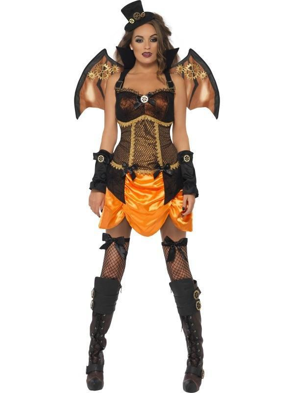 Halloween Steampunk Bat Costume