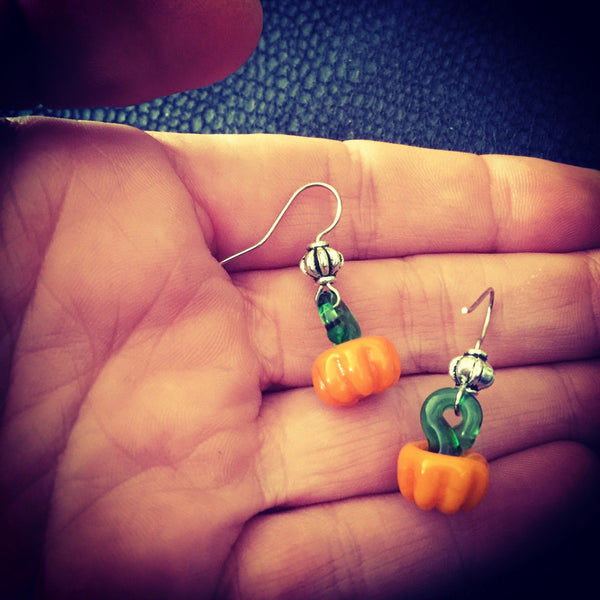 Home & Outdoor Decoration,Jewellery Pumpkin Witch Earrings