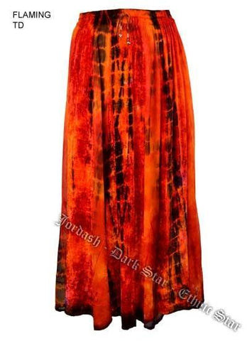 Home & Outdoor Decoration Velvet & Georgette Gypsy Skirt