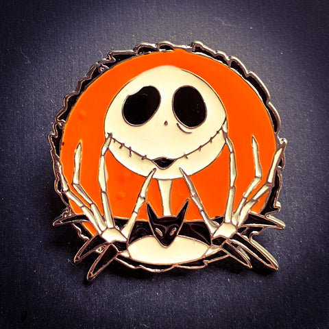 Jack Skellington Pin