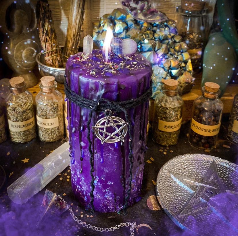 Intuition Pillar Candle