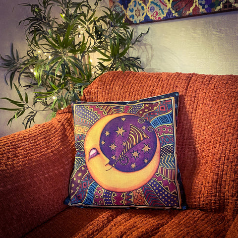 Bohemian Moon Pillow Case