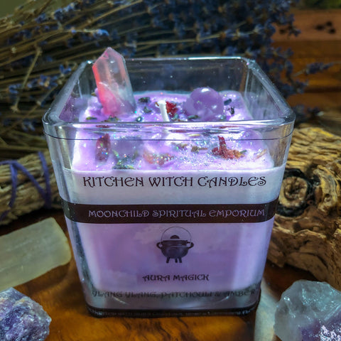 Kitchen Witch Candle ~ Aura Magick