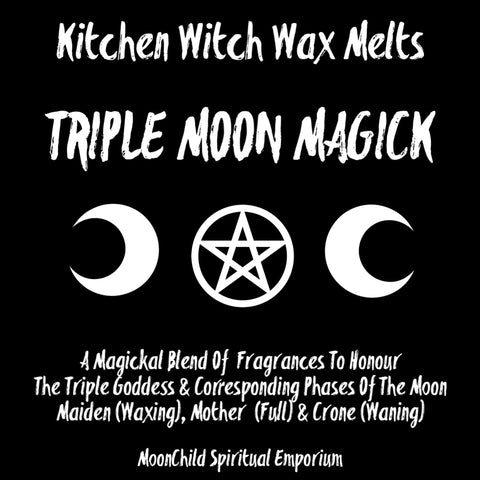Kitchen Witch Wax Melts ~ Triple Moon Magick