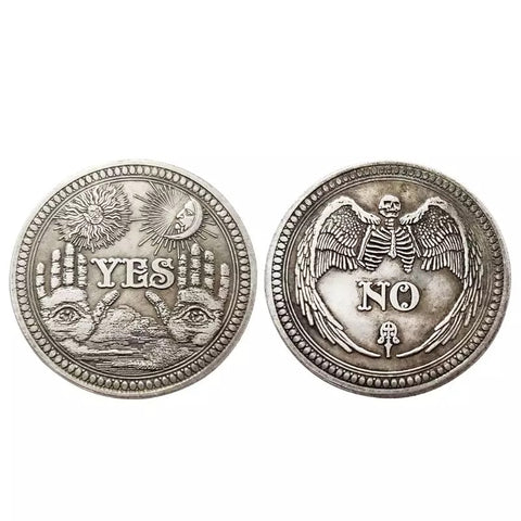 Tarot Coin ~ Yes or No