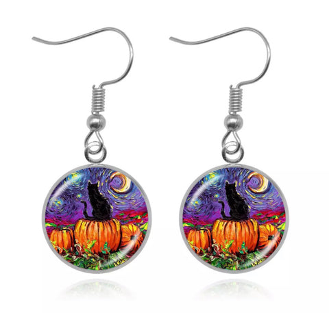 October Skies Earrings