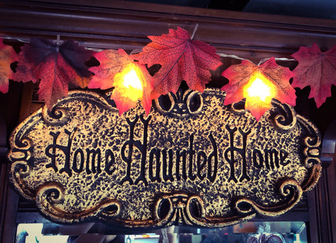 Home Haunted Home Sign