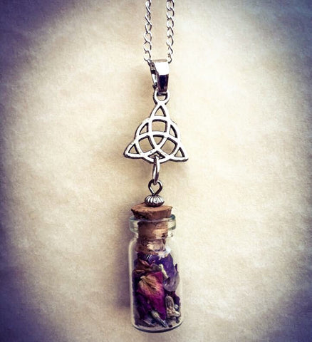 SpellBound Vial Necklace ~ Witch Crafted