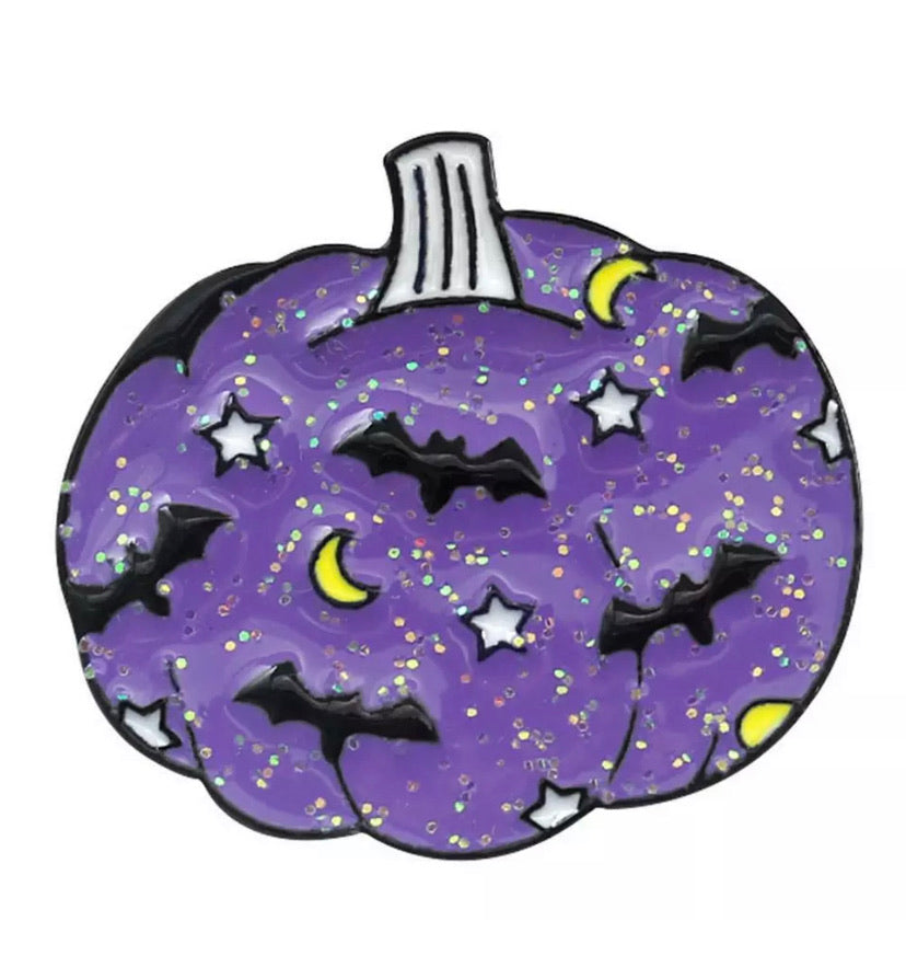 Purple Pumpkin Pin