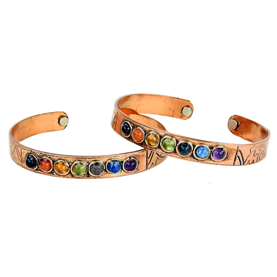 Copper Chakra Bangle