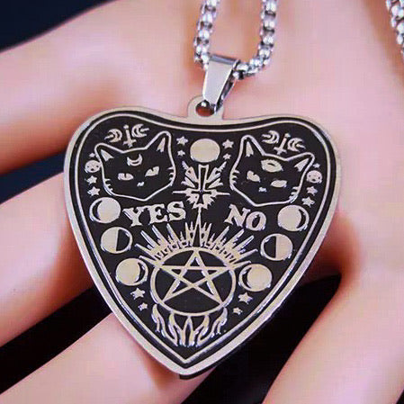 Midnight Planchette Necklace
