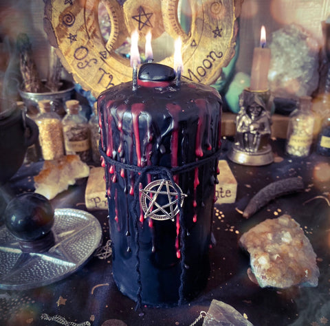 Hecate's Cauldron Candle