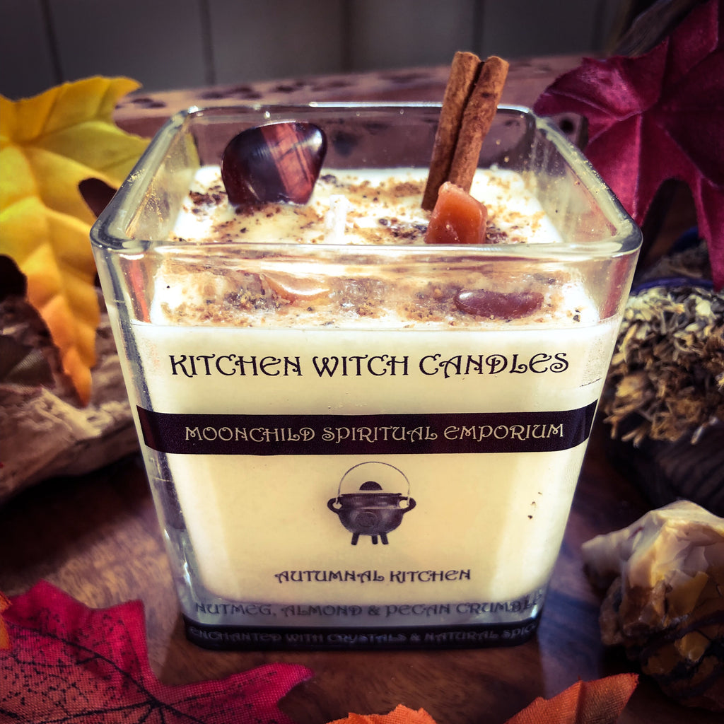Kitchen Witch Candle ~ Autumnal Kitchen