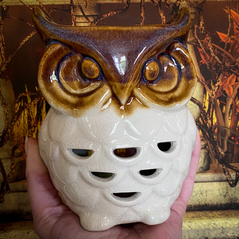 Autumn Owl Oil Burner