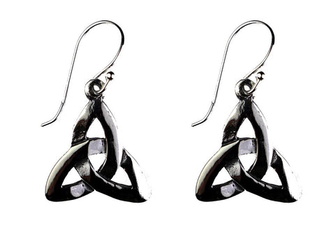 Triquetra Earrings ~ Sterling Silver