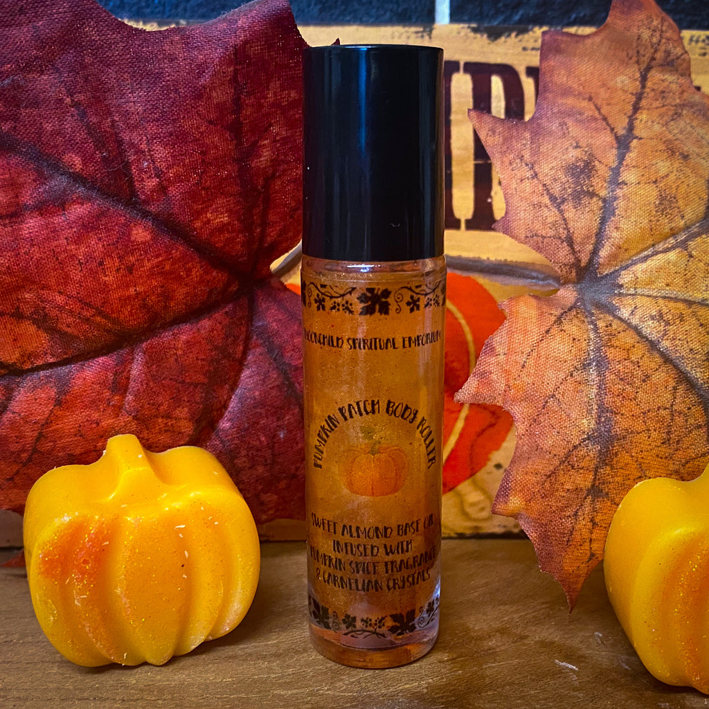 Pumpkin Patch Roller Perfume ~ Frosted Pumpkin