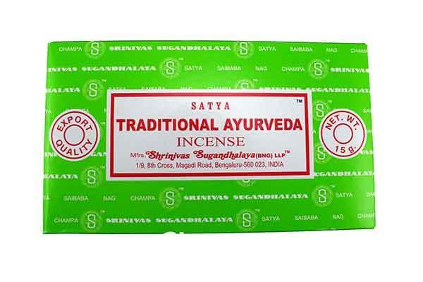 Incense, Oils & Accessories,Incense Sticks Ayurveda ~ Satya