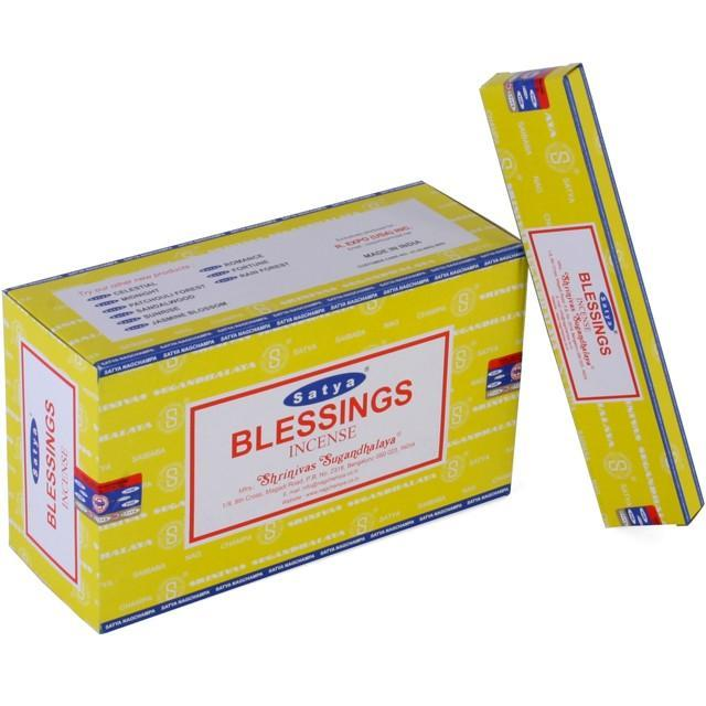 Incense, Oils & Accessories,Incense Sticks Blessings ~ Satya