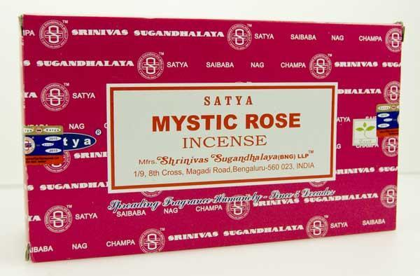 Incense, Oils & Accessories,Incense Sticks Mystic Rose ~ Satya