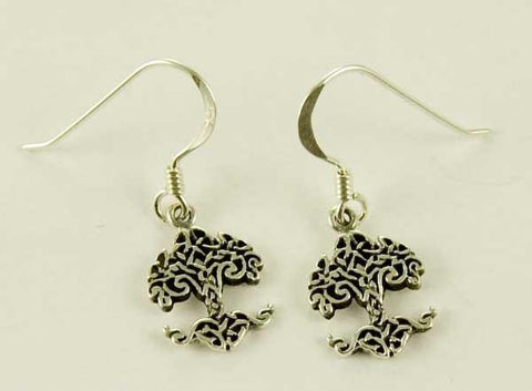 Jewellery,Angels, Gods & Goddess Tree of Life Earrings - Sterling Silver