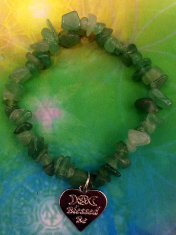 Jewellery Blessed Be ~ Aventurine Bracelet