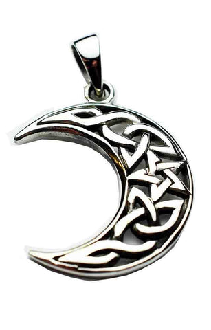 Jewellery Celtic Cradle Pendant - Sterling Silver
